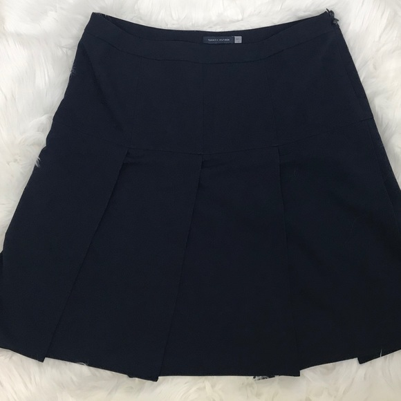 c816a7229c Tommy Hilfiger Skirts | Navy Pleated Skirt Size 12 98 | Poshmark